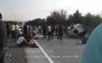 Жуткая авария близ поселка Казыгурт: Пятеро погибших, много пострадавших