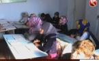 Школьники в южноказахстанском селе вынуждены учиться стоя