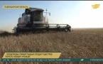 Хлеборобы Прииртышья спешат быстрее убрать новый урожай