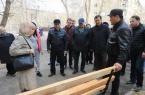 В Павлодаре начали ремонт внутридворовых территори…