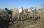 Бойцы нацгвардии подготовили поселок Ленинский к б…