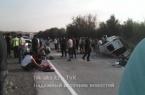 Жуткая авария близ поселка Казыгурт: Пятеро погибш…