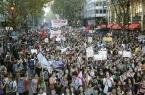 В Аргентине прошел женский марш против насилия