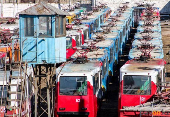 Трамваи Павлодара (фото)