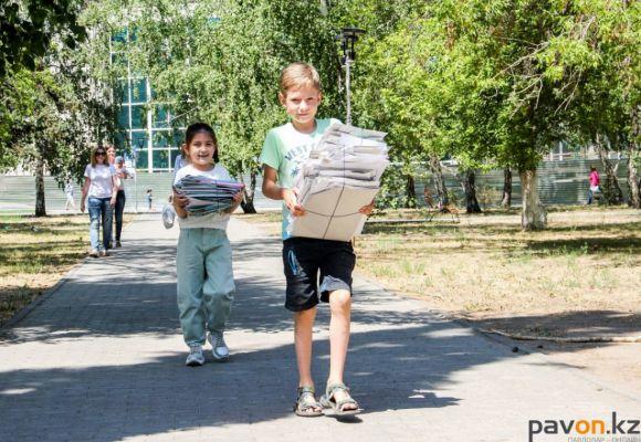 Павлодарцы сдали четыре тонны бумаги в помощь животным