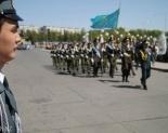 Смотр строя и песни в честь Дня Победы прошел в Павлодаре