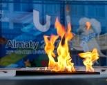 В Павлодаре огонь Универсиады зажег  Султанмахмут Торайгыров