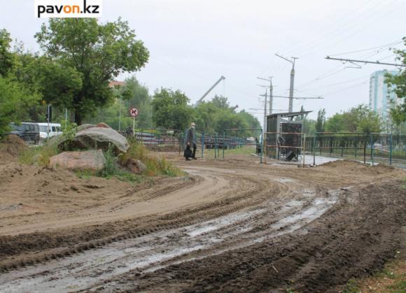 Павлодарские коммунальщики рассказали, когда завершится ремонт сетей на перекрестке Естая - Машхур Жусупа и на проспекте Назарбаева