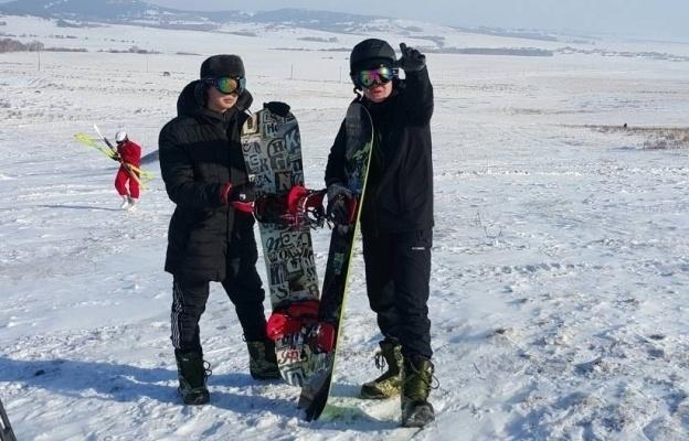 В Баянауле взялись за развитие горнолыжного спорта и строят на горе Мырзашокы новую канатную дорогу