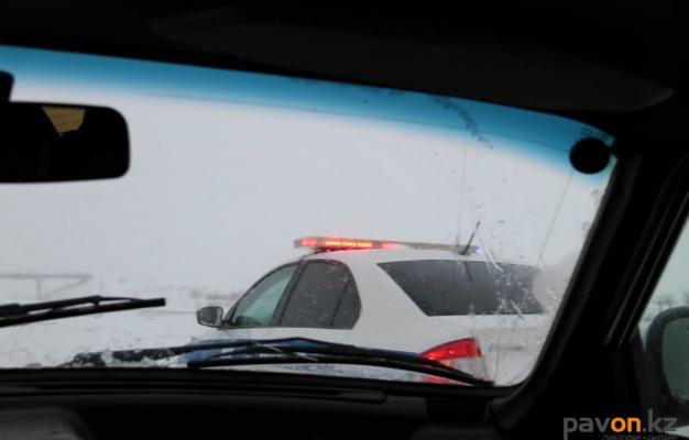 Трассы в Прииртышье закрыты по нескольким направлениям