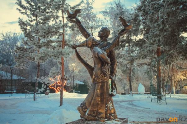Сразу несколько новых скульптур появилось в Павлодаре