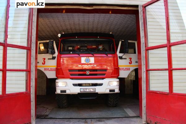 Мужская работа: павлодарские пожарные рассказали о своих буднях