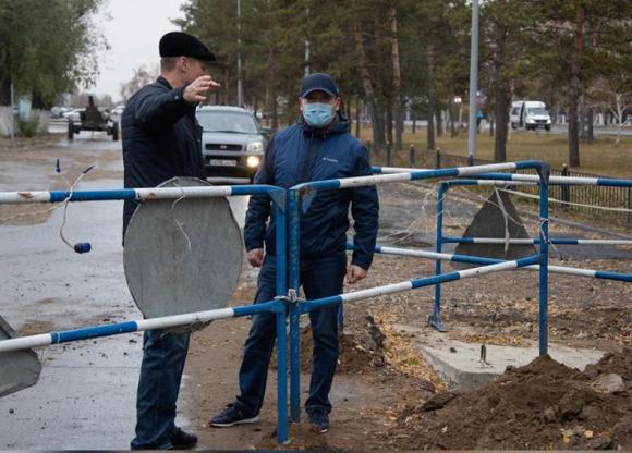 Монополисты в Павлодаре должны отремонтировать асфальт после ремонта на сетях до 31 октября
