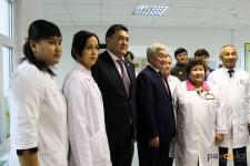 Вице-премьер Казахстана посетил реабилитационный центр в Аксу