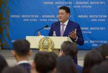 Аким Павлодарской области рассказал студентам, как заработал свой первый капитал