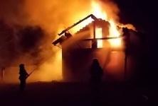 В Павлодаре при пожаре в бане погиб мужчина