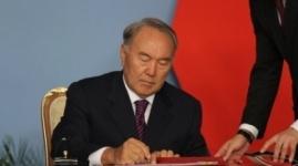 Назарбаев подписал закон о повышении налогов