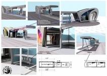 За лучший проект автобусной остановки победителю конкурса выплатят 200 тысяч тенге