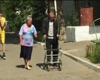 Полоса препятствий для инвалида