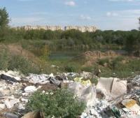 Огромная свалка в черте Павлодара заинтересовала экологов