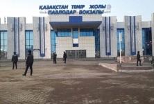 В Павлодаре эвакуировали людей с двух вокзалов из-за сообщений о бомбе
