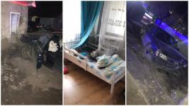 Ребенка завалило кирпичами: Водитель выбил стену в частном доме в Павлодаре