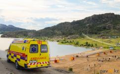Бригада скорой помощи спасла туриста, отдыхавшего на озере Жасыбай