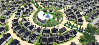"""В Японии официально открыт """"умный город"""" Фудзисава (видео)"""