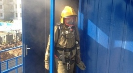 При пожаре в Астане погибли два человека