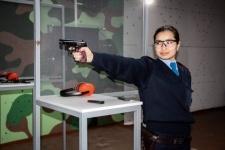 Экибастузских женщин-полицейских снова признали лучшими стрелками
