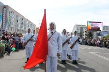 В Павлодаре прошел Марш Победы