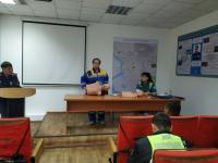 Павлодарских полицейских учат оказывать неотложную помощь пострадавшим в ДТП