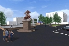 В Павлодаре скоро появится новый памятник - Малайсары батыру