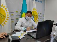 В Павлодаре для безопасности студентов построят надземный пешеходный переход через улицу Мира