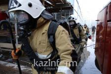 Двое погибли при пожаре в Экибастузе