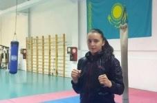 Девушка-боец из Павлодара примет участие в пляжных Азиатских играх
