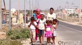 Мать-одиночка с пятью детьми осталась на улице в Шымкенте