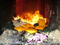 Почти 160 килограммов наркотиков сожгли в Павлодарской области