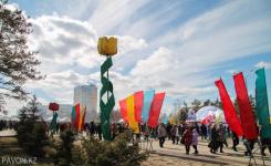 Празднование Наурыза прошло в Павлодаре
