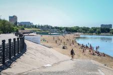 На Лермонтовском и Усольском пляжах в Павлодаре нет спасательных постов