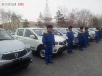 В Павлодаре ветеринары получили новые служебные авто
