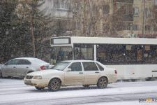 11 случаев ДТП зафиксировали павлодарские полицейские за снежный день