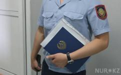 Полицейского нашли мертвым в машине в Экибастузе