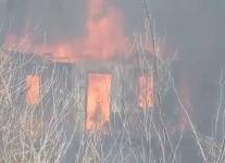 Два дачных садоводства горели в Павлодаре