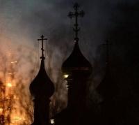 В Экибастузе на территории храма произошел пожар