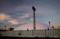 В Павлодаре под куполом строят круглогодичное футбольное поле