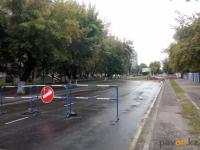 В акимате Павлодара сообщили о том, когда откроется движение на участке улицы Ак. Чокина в районе Ак. Бектурова