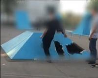 Подростки, разгромившие скейтпарк в Экибастузе, восстановили сооружение своими руками