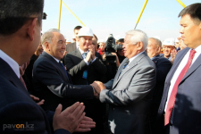 Два года строительства мостового перехода«Павлодар-Аксу» за 6 минут