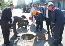 В Павлодаре из ста пятидесяти аварийных колодцев подняли только семь